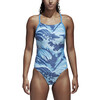 adidas Fit One Piece AOPPAR Swimsuit Women blue